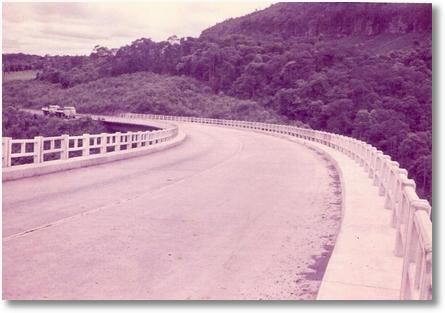 FNMs subindo a Serra d Esperança BR 277 asfalto recem inaugurado