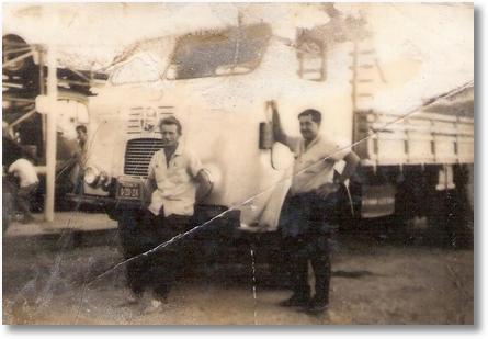 José Valdemir da Rocha com seu FNM