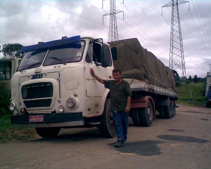 FIAT 79 - União da Vitória - Proprietário Sereno - Carga de papel para Miguel Forte