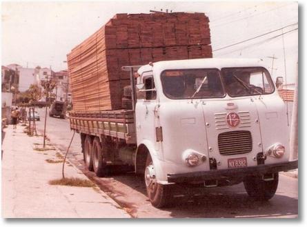 Proprietário Agenor Brandini Padilha - Carga de madeira - São José dos Pinhais - PR