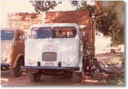 Proprietário Agenor Brandini Padilha -Motorista Vitor Alves Borges Fazendo carreteiro