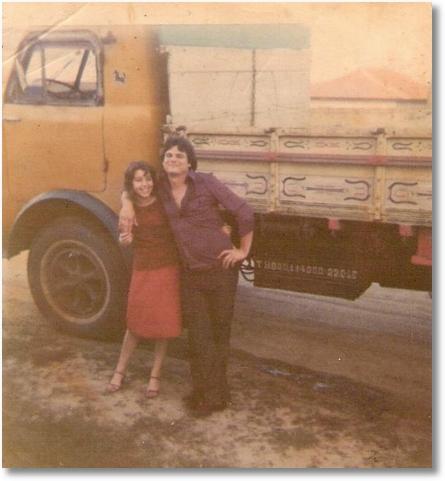 FNM 1960 - Noivado de Ana e Denir Bonin em 15-10-78 - S+úo JOs+® dos Pinhais