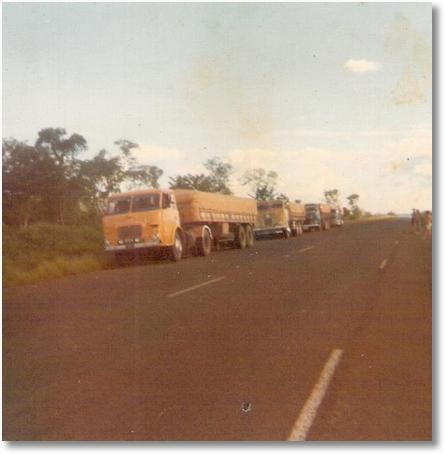 FNM 180 74 - Prop. João Luiz Camargo em 1980 - Carga para Mato Grosso