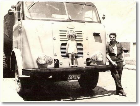 FNM 68 - Prop. B. Greca - Transporte de Asfalto em Janeiro de 1970