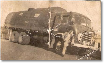 FNM Brasinca 58 - Propriet+írio Cindo Berleze - Motorista Leonidas Camargo Saad - Carga de Erva Mate para Uruguaina em 1968