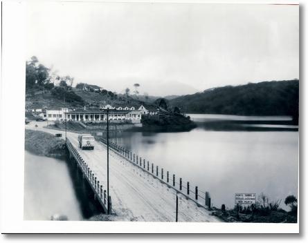 Ponte sobre a represa Vossoroca anos 60 BR 376-nesta época se levava 18 horas para ir de São Jose dos Pinhais a Joinville- 12