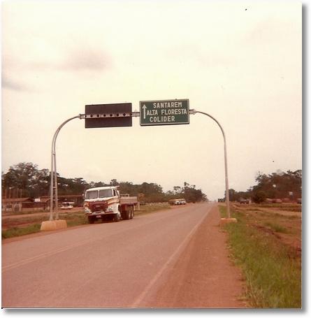 FNM 73 PROP, Imãos Valaski, motorista Eloy Dimas em Sinop MT 1985