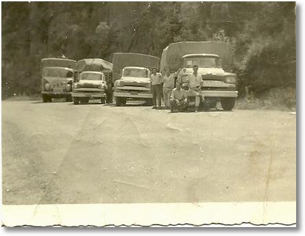 Mario A Claudino no FNM Brasinca 60,outros Juca Padilha,Olimpio Camargo, Ari Cardoso em União da Vitoria PR 1963