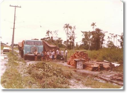 FNM 1964 PRAIA SANTA TEREZINHA PR EM 1976 PROPRIETARIO ZACARIAS NOGUEIRA