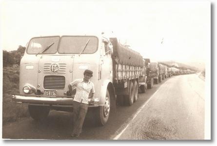FNM 64 FILA EM PARANAGUÁ EM1978 CARGA MILHO PROPRIETARIO ZACARIAS NOGUEIRA