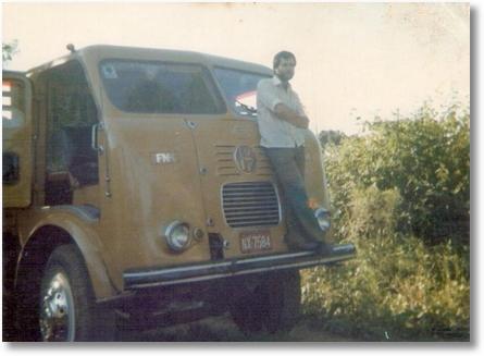 FNM V12 - 68 Propriet+írio Hamilton Toso - em 1979