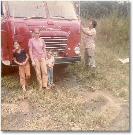 FNM 180 MOTORISTA JOS+ë CALIXTO DOS SANTOS EM 1976